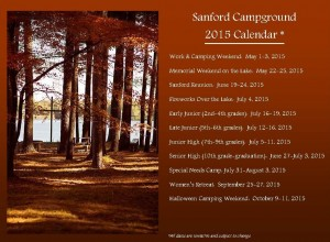 SanfordCampground2015Calendar
